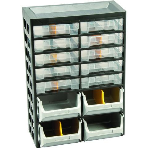 Image of Barton Storage Barton 21 Multi-Drawer Basic Cabinet x 2