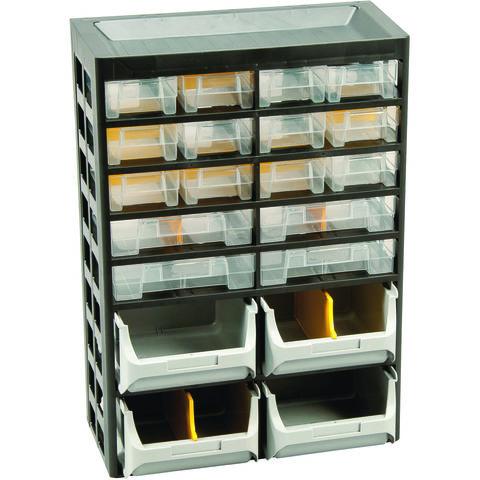Image of Barton Storage Barton 2x 34 Multi-Drawer Basic Cabinets