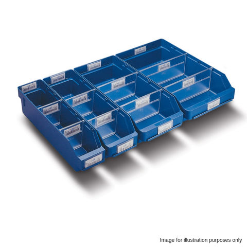 Image of Barton Storage Barton 3009 Blue Shelf Bin (40 Pack)