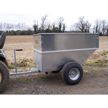 SCH Supplies Large Capacity Tipping Dump Trailer