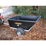 SCH Supplies Large Capacity Plastic Body Trailer