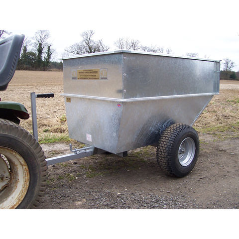 Image of SCH Supplies SCH Galvanised Body Large Tipping Trailer