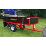 SCH 2 Wheel 760kg Timber Trailer