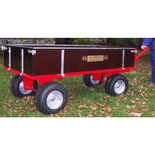 SCH 4 Wheel 760kg Timber Trailer
