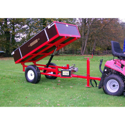 Image of SCH Supplies SCH HTRLE 12V Hydraulic Tipping Trailer
