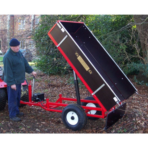 Image of SCH Supplies SCH HTRLM Manual Hydraulic Tipping Trailer