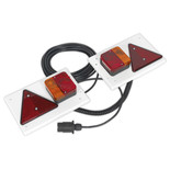 Sealey Lighting Board Set with 10m Cable 12V Plug (2 Piece)