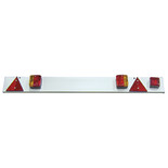 "Streetwize SWTT21 Trailer Lighting Board 4ft 6"" + 6m Cable with Fog Lamp"