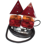 Maypole Twin Pack Of Magnetic Lighting Modules For Trailers