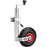 Clarke CJW48C 48mm Pneumatic Jockey Wheel with Clamp