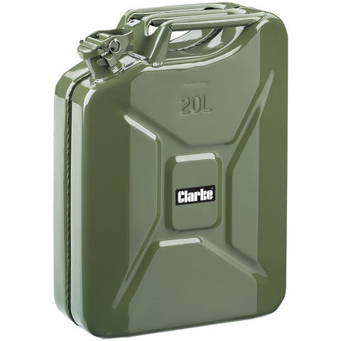 Image of Clarke Clarke 20 Litre Fuel Can (Green)