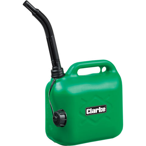 Image of Clarke Clarke GP5L 5 Litre Green Plastic Fuel Can