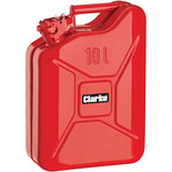 Clarke FC10LR 10 Litre Fuel Can (Red)