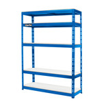 Clarke CSR5450BP Heavy Duty Boltless Shelving (Blue)