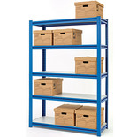 "Clarke CS5265BP 1.2m (48"") Wide Span Boltless Shelving (Blue)"