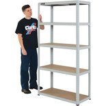 Clarke CSM5100LG 100kg Boltless Shelving (Light Grey)