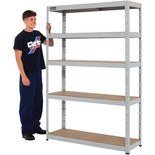 Clarke CSM5265/40LG 265kg Boltless shelving (Light Grey)