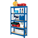 Clarke CSM5150BP 150kg Boltless Shelving (Blue)