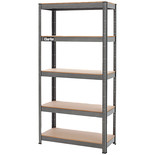 Clarke CSM5150B 150kg Boltless Shelving (Dark Grey)