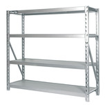 Clarke CS4700 4 Shelf Boltless Industrial Racking with Laminate Shelves