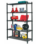 Clarke CS5000B - 5 Shelf Boltless Wire Shelving