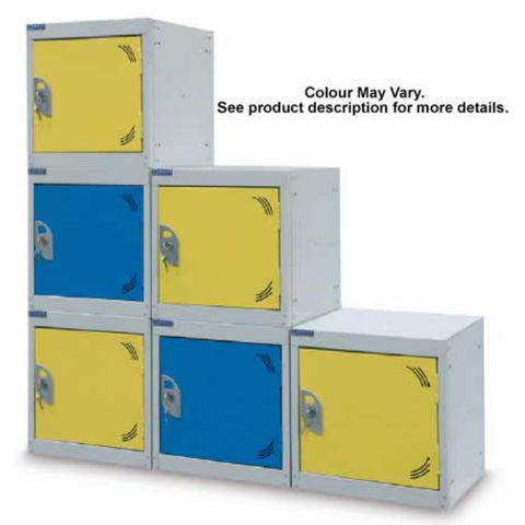 Image of Machine Mart Xtra Barton Storage Silver/Green 380 Cube Locker