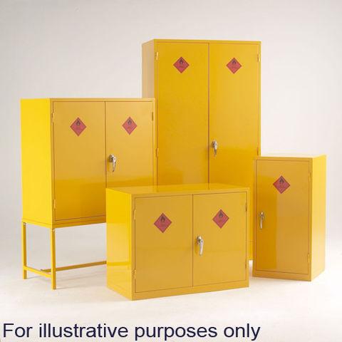 Image of Machine Mart Xtra Barton Hazardous Substance Cabinet with 2 Shelves