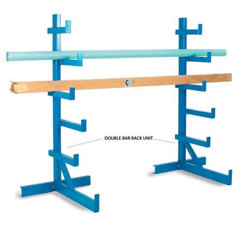 Image of Barton Storage Barton BARU/SS/2 Twin Bar Rack Units Blue