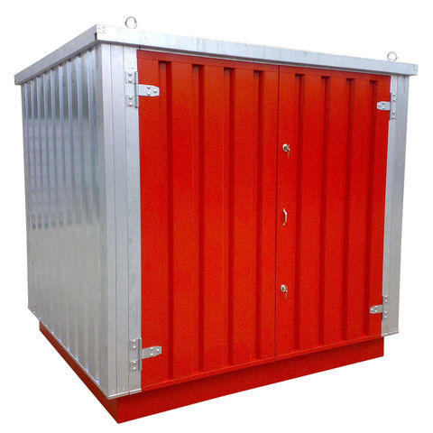 Image of Machine Mart Xtra Armorgard FlamStor FS2.0M Collapsible Walk-In Hazardous Storage Unit