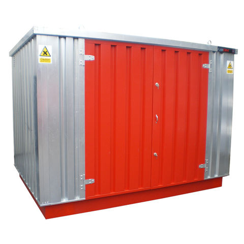 Image of Machine Mart Xtra Armorgard FlamStor FS3.0M Collapsible Walk-In Hazardous Storage Unit