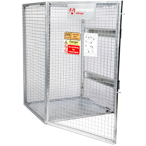 Image of Machine Mart Xtra Armorgard TC1.2 TuffCage Folding One Piece Gas Cage