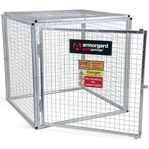 Image of Machine Mart Xtra Armorgard GGC4 Gorilla Collapsible Gas Cage