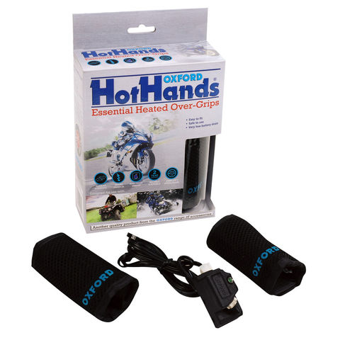 Image of Machine Mart Xtra Oxford OF694 Hothands Hot Grips