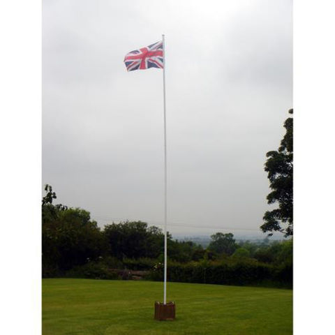 Image of One Stop Promotions One Stop Promotions Value 6 Metre 2 Section Flagpole TP-VALFP6-2