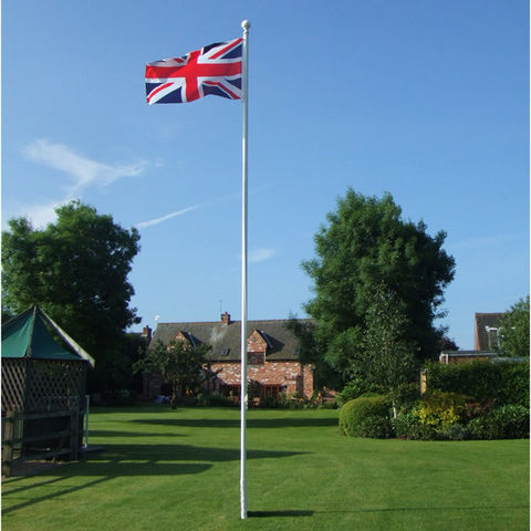 Image of One Stop Promotions One Stop Promotions Deluxe 6 Metre 2 Section Flagpole TP-DELFP6-2