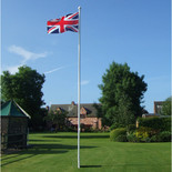 One Stop Promotions Deluxe 6 Metre 2 Section Flagpole TP-DELFP6-2