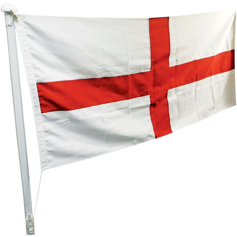 Image of One Stop Promotions One Stop Promotions St. George Sewn Flag with Rope & Toggle (6x3ft)