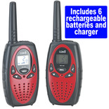 Clarke TR300 Two Way Radio (Twin Pack)