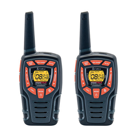 Image of Cobra Cobra AM845 Two Way Radio Twin Pack (Black)