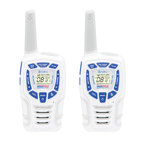 Image of Cobra Cobra AM845 Two Way Radio Twin Pack (White)