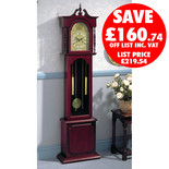 Clarke Belgravia Grandfather Clock (Key Wound)