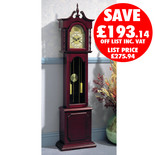 Clarke Colonial Grandfather Clock (Weight Driven)
