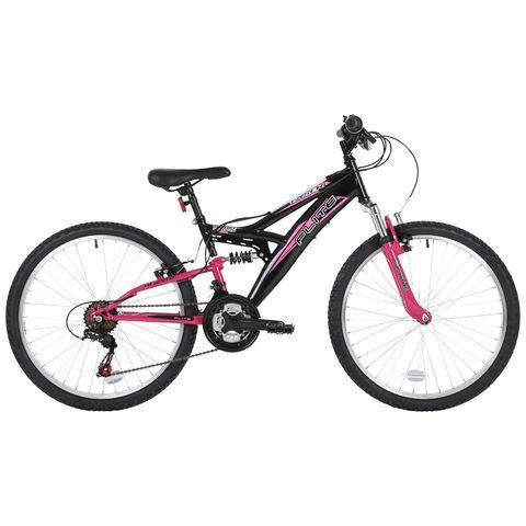 Flite Flite Taser 24″ Wheel Dual Suspension Mountain Bike Girls (14″ Frame)