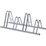 4 Section Dual Height Cycle Rack/Stand