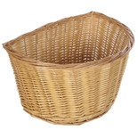Oxford D Shape Wicker Cane Basket (16'')