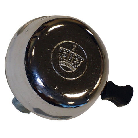 Image of Oxford Oxford BE150 Crown Bicycle Bell - Chrome Polished