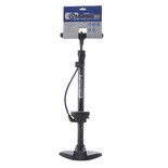 Oxford PU850 Airtrack Workshop+ Steel Floor Pump with Gauge