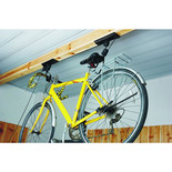 Cycle Storage Lift Pulley System