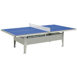 MightyMast Institution Blue Outdoor Table Tennis