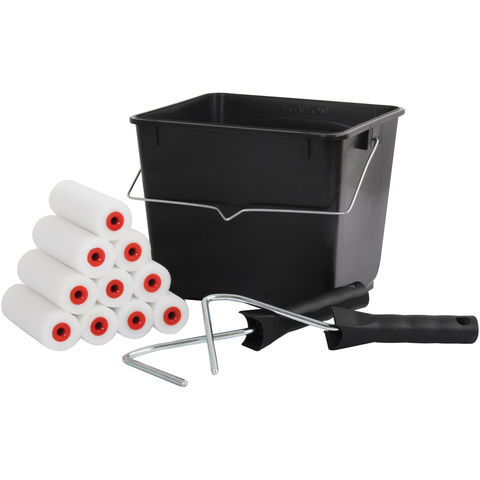 "Image of Rodo Rodo 13 Piece 4"" Mini Roller Scuttle Kit"